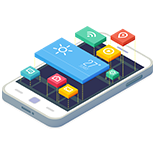 App Development, Design, UI, UX, Android, iOS, Apple, cross platform - Clapstickmedia Clapstick Media